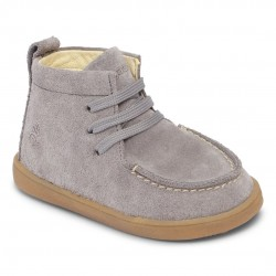Mocca II Lace - Grey Suede
